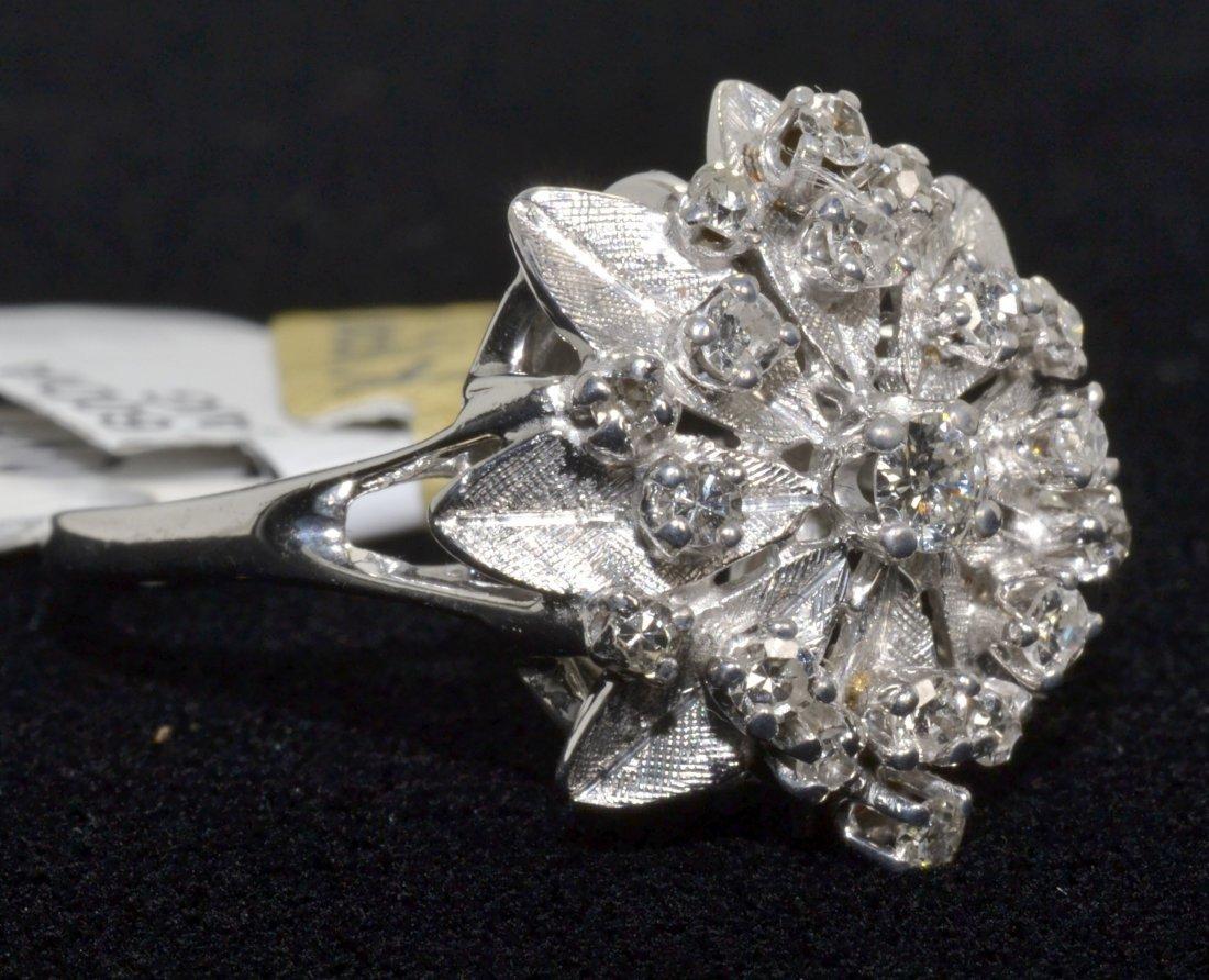 Diamond Cluster Ring Appraised Value: $4,000