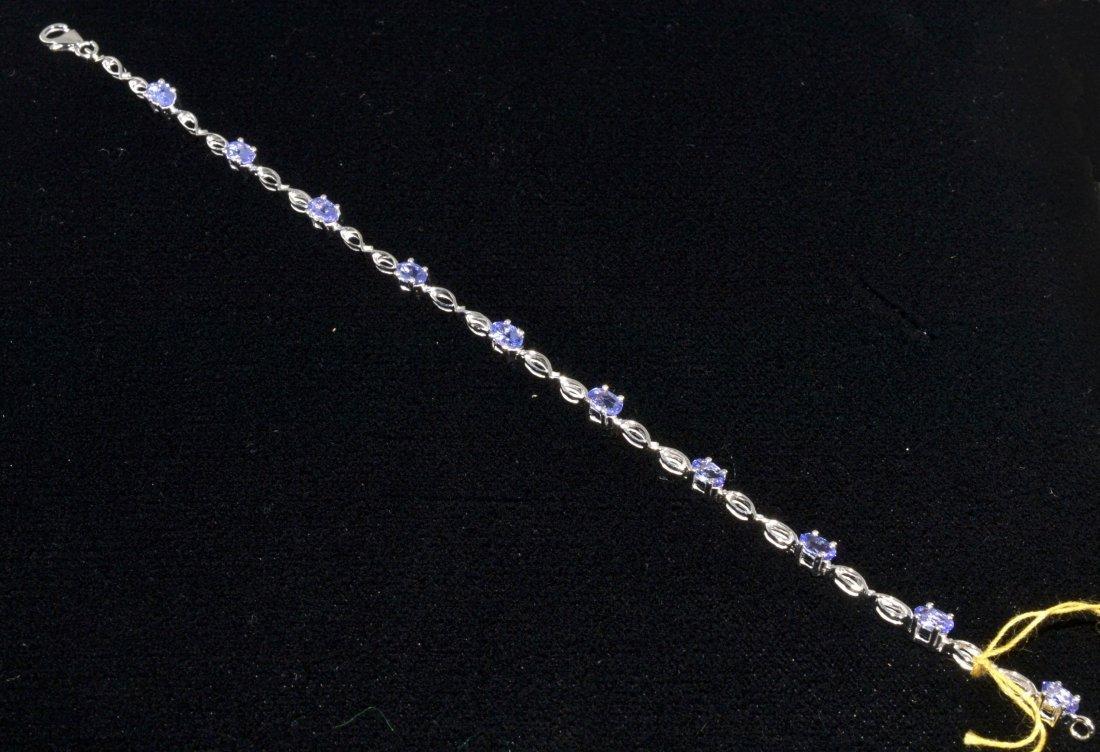 Tanzanite Bracelet Appraised Value: $2,780
