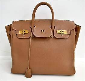 Hermes Birkin Brown Bag