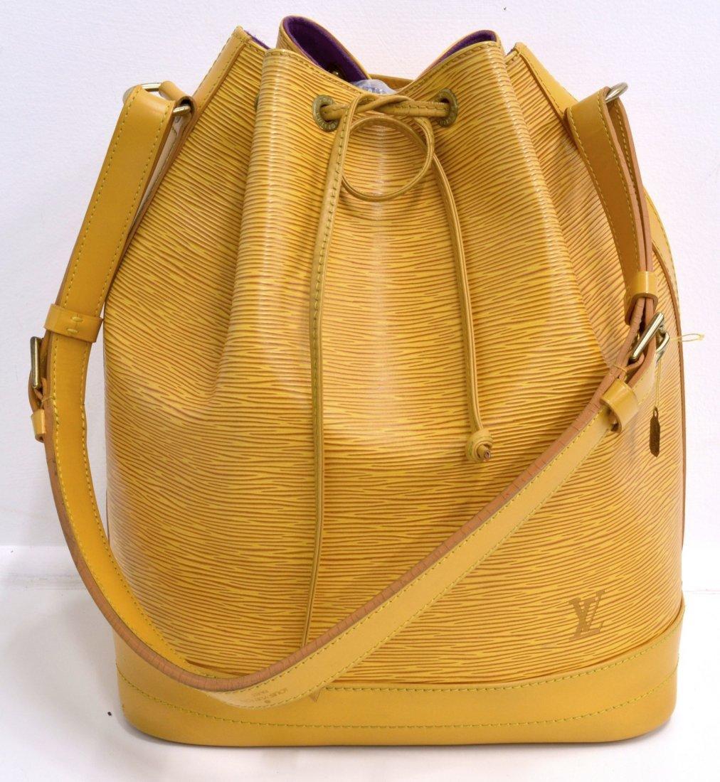 Louis Vuitton Epi Noe Bucket Bag (EXCELLENT CONDITION)