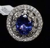 Tanzanite  Diamond Ring Appraised Value 11345