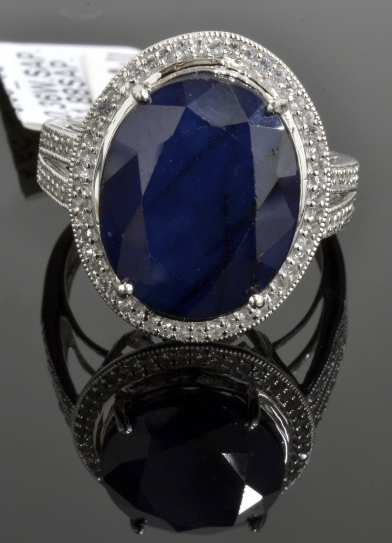 Sapphire Ring Appraised Value: $7,840