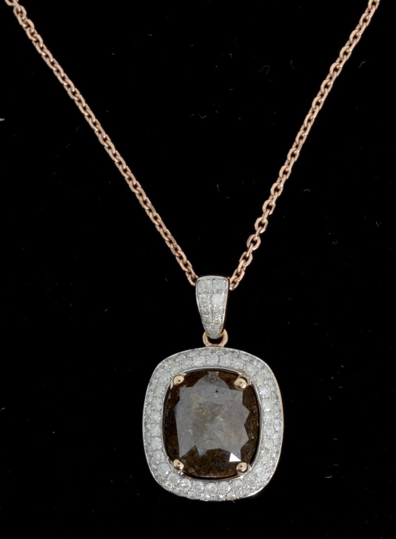 Diamond Necklace Appraised Value: $8,500