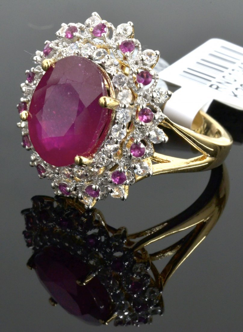 Ruby & Sapphire Ring Appraised Value: $1,640