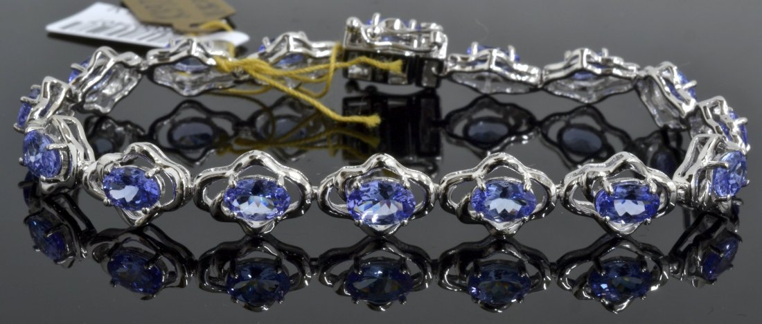Tanzanite Bracelet Appraised Value: $5,200