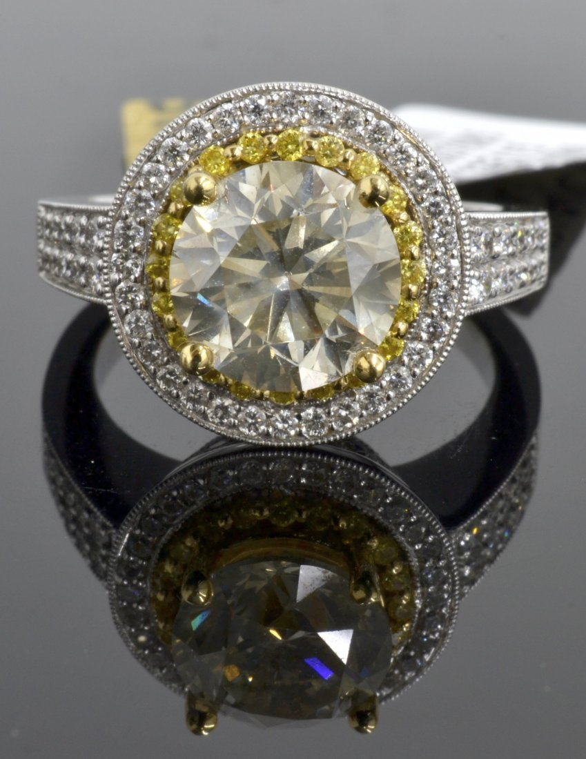 Diamond Ring Appraised Value: $49,000