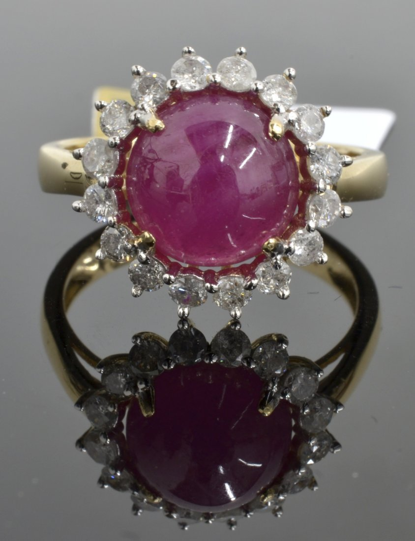 Ruby & Diamond Ring Appraised Value: $3,270
