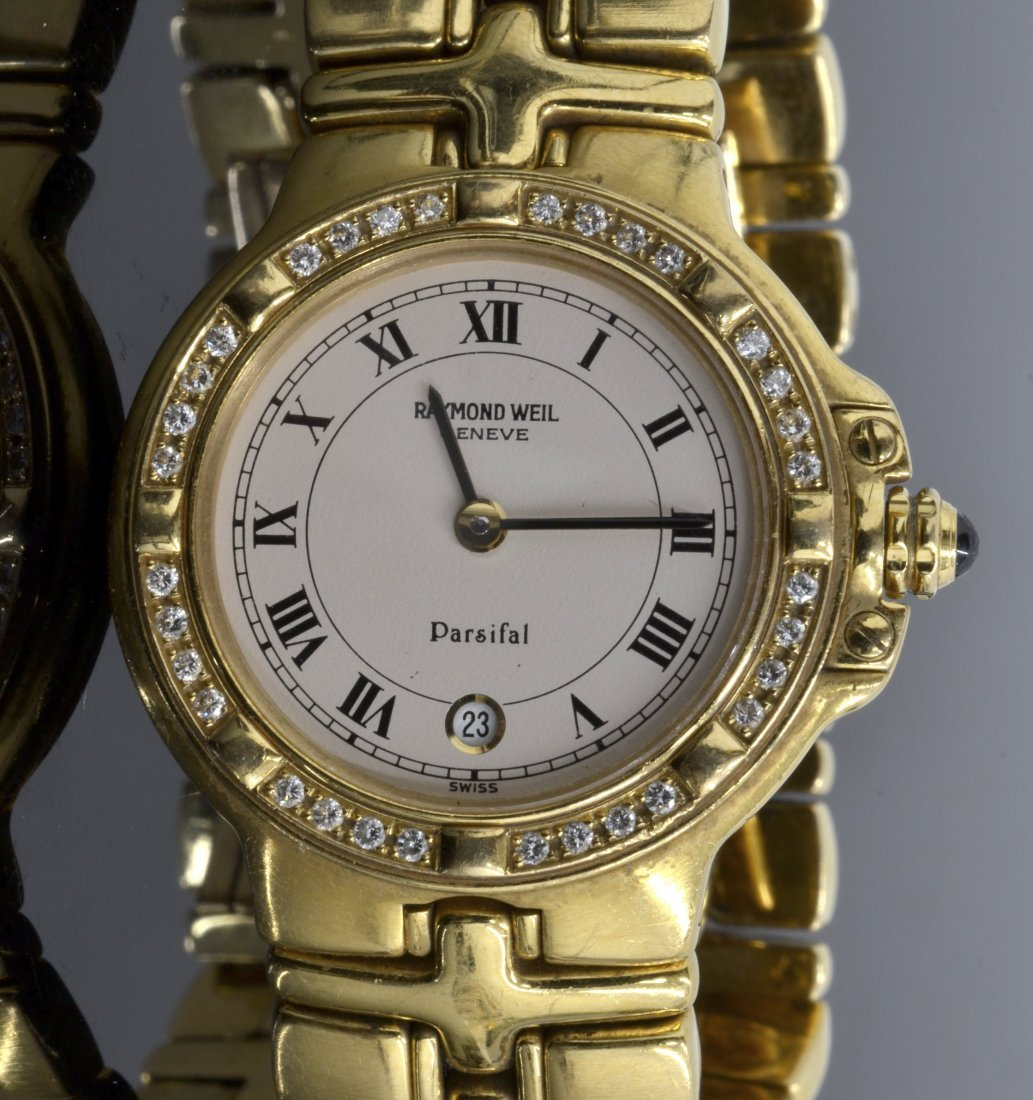 Raymond Weil Parsifal Diamond Watch AV: $11,995