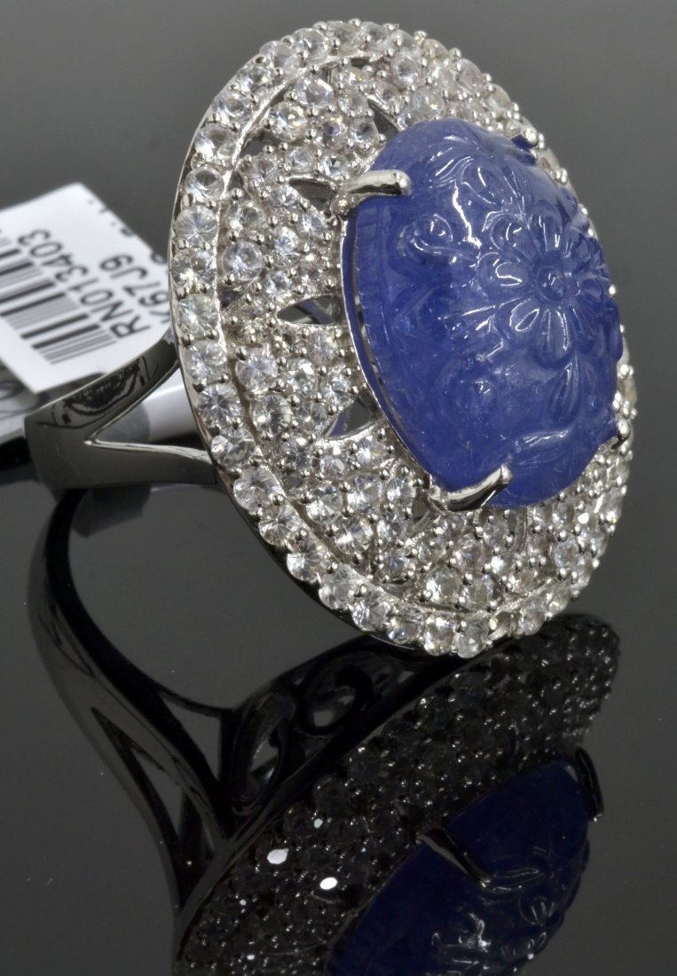 Tanzanite & Sapphire Ring Appraised Value: $4,800