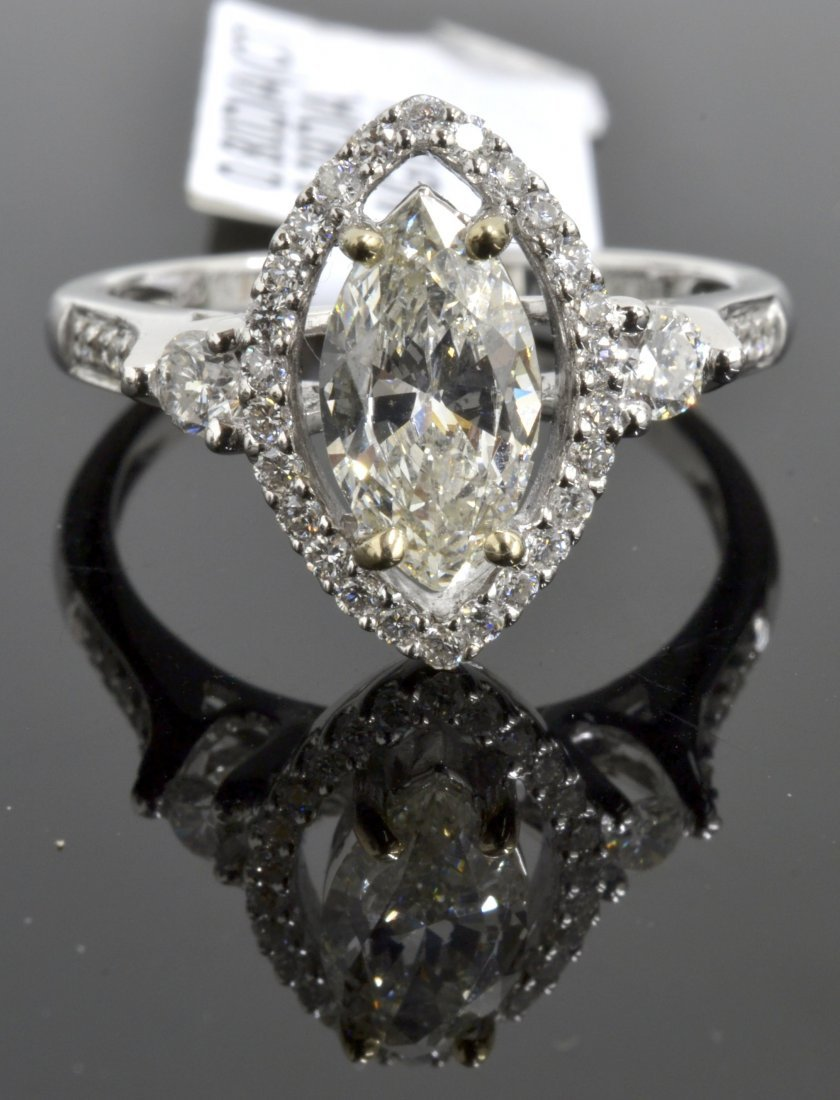 Diamond Ring Appraised Value: $9,100 (EGL USA CERT.)