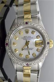 Rolex Two Tone DateJust Watch Appraised Value: $8,220