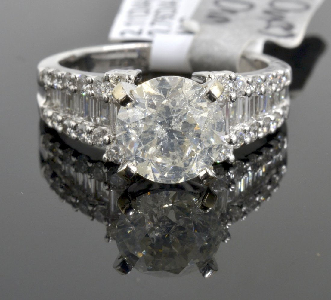 Diamond Ring Appraised Value: $25,650