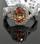Sapphire  Diamond Ring Appraised Value 5800