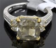 6.15 ct Diamond Ring Appraised Value: $57,920