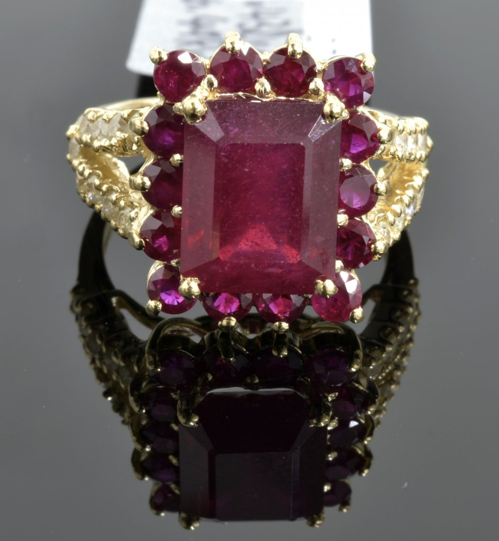 Ruby & Diamond Ring Appraised Value: $3,500