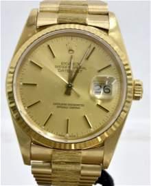18K Gold Rolex Wristwatch AV: $24,500 DNS