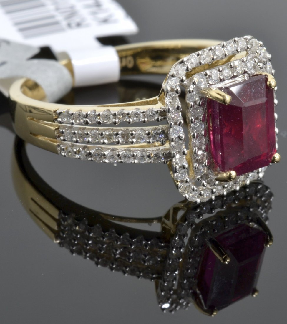 Ruby & Diamond Ring Appraised Value: $3,355