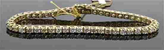 Diamond Bracelet Appraised Value: $12,785