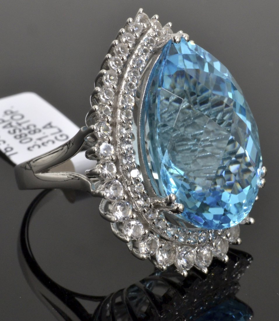 Topaz & Sapphire Ring Appraised Value: $2,820