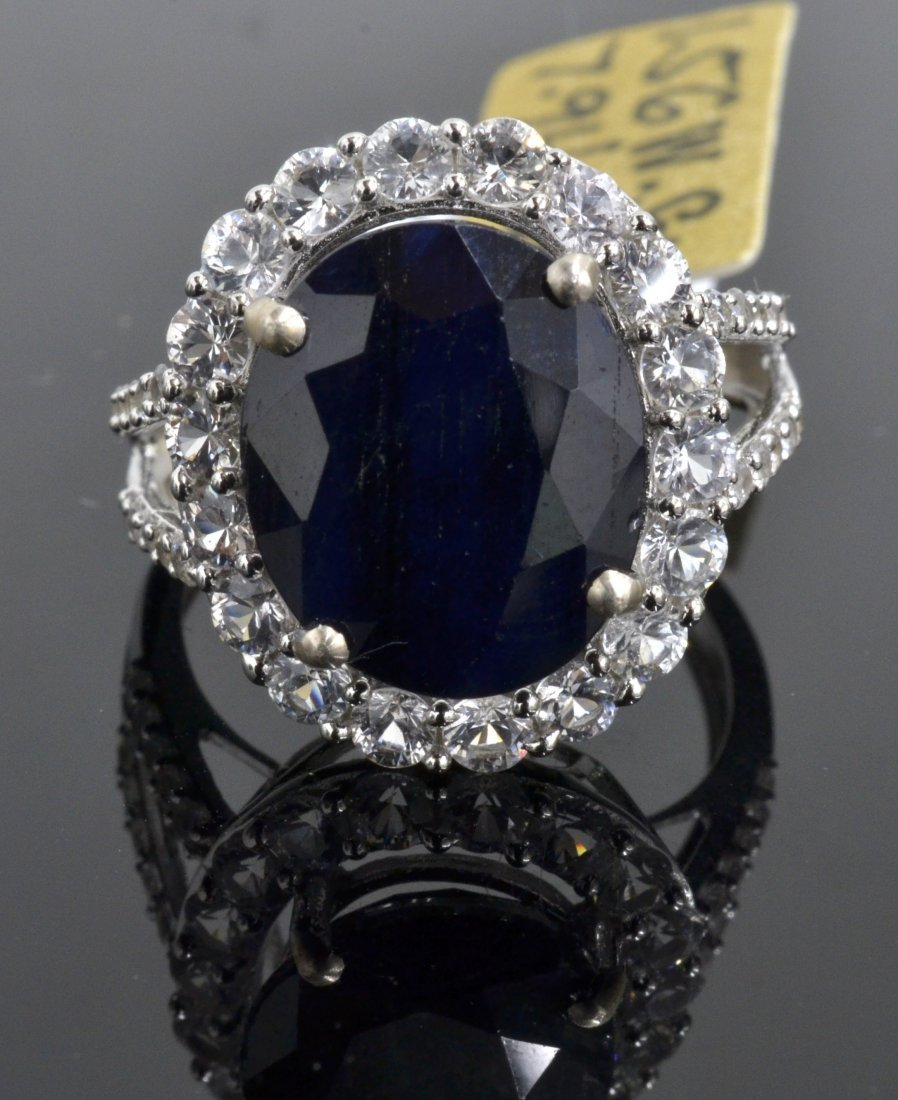 Sapphire Ring Appraised Value: $6,360
