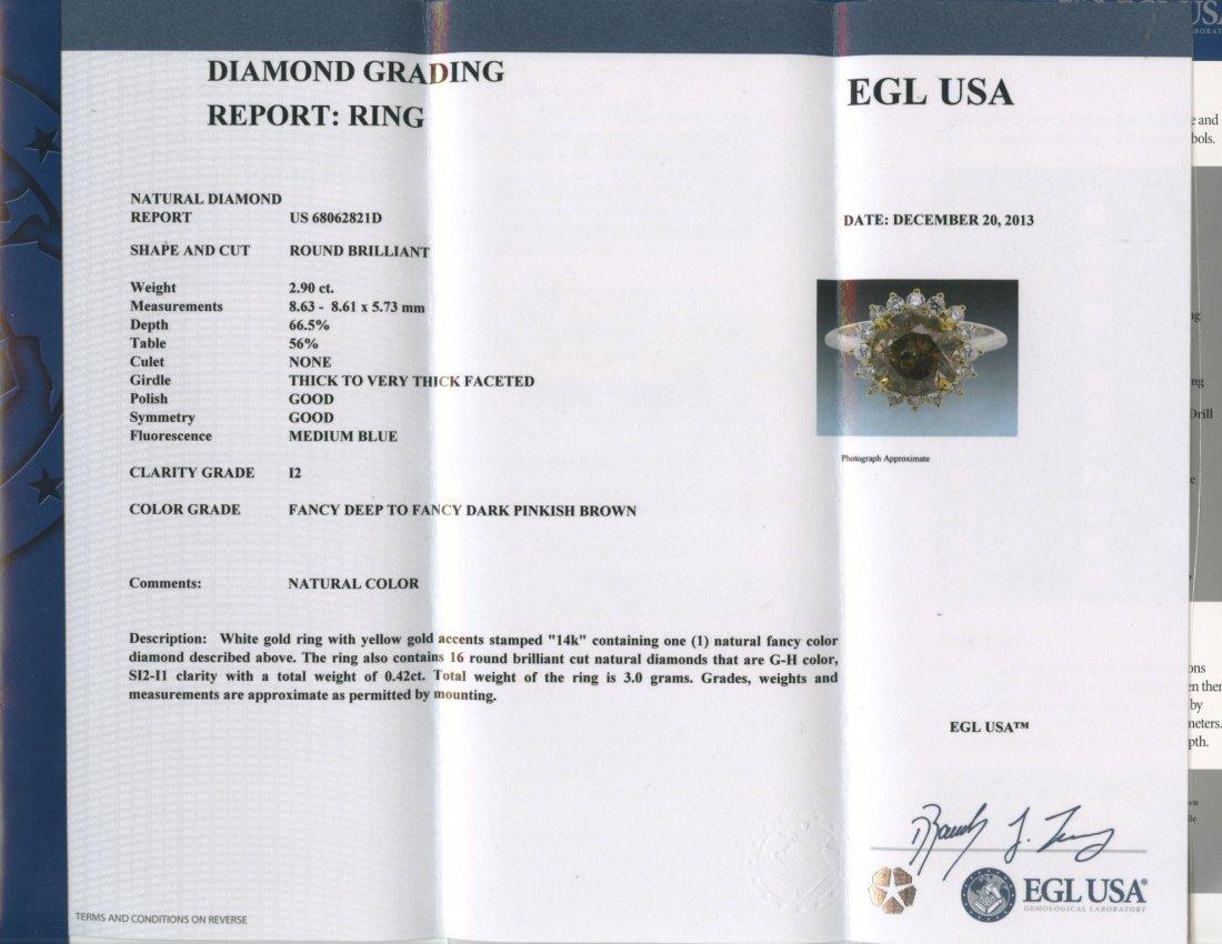 Diamond Ring (EGL USA CERTIFIED) - 2