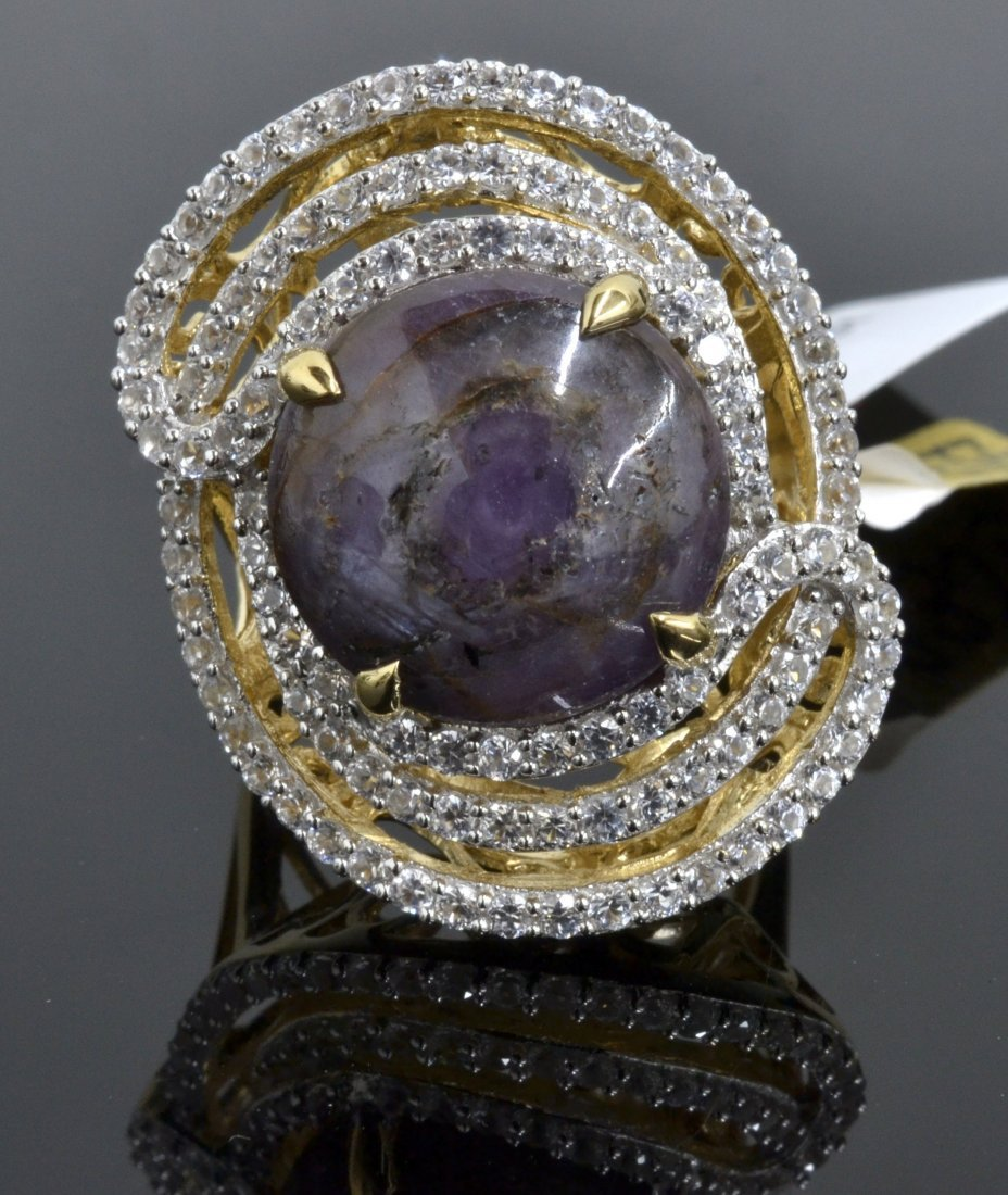 Ruby & Sapphire Ring Appraised Value: $9,059