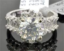 3.37CT Diamond Ring (EGL CERTIFIED)