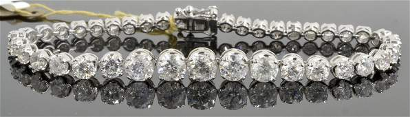 Diamond Bracelet Appraised Value: $43,895