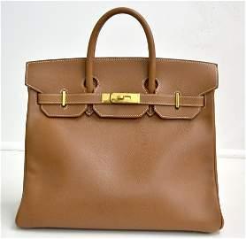 Hermes Brown Birkin Bag 32