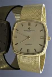 Vacheron Constantine 18K GOLD Watch AV: $17,300