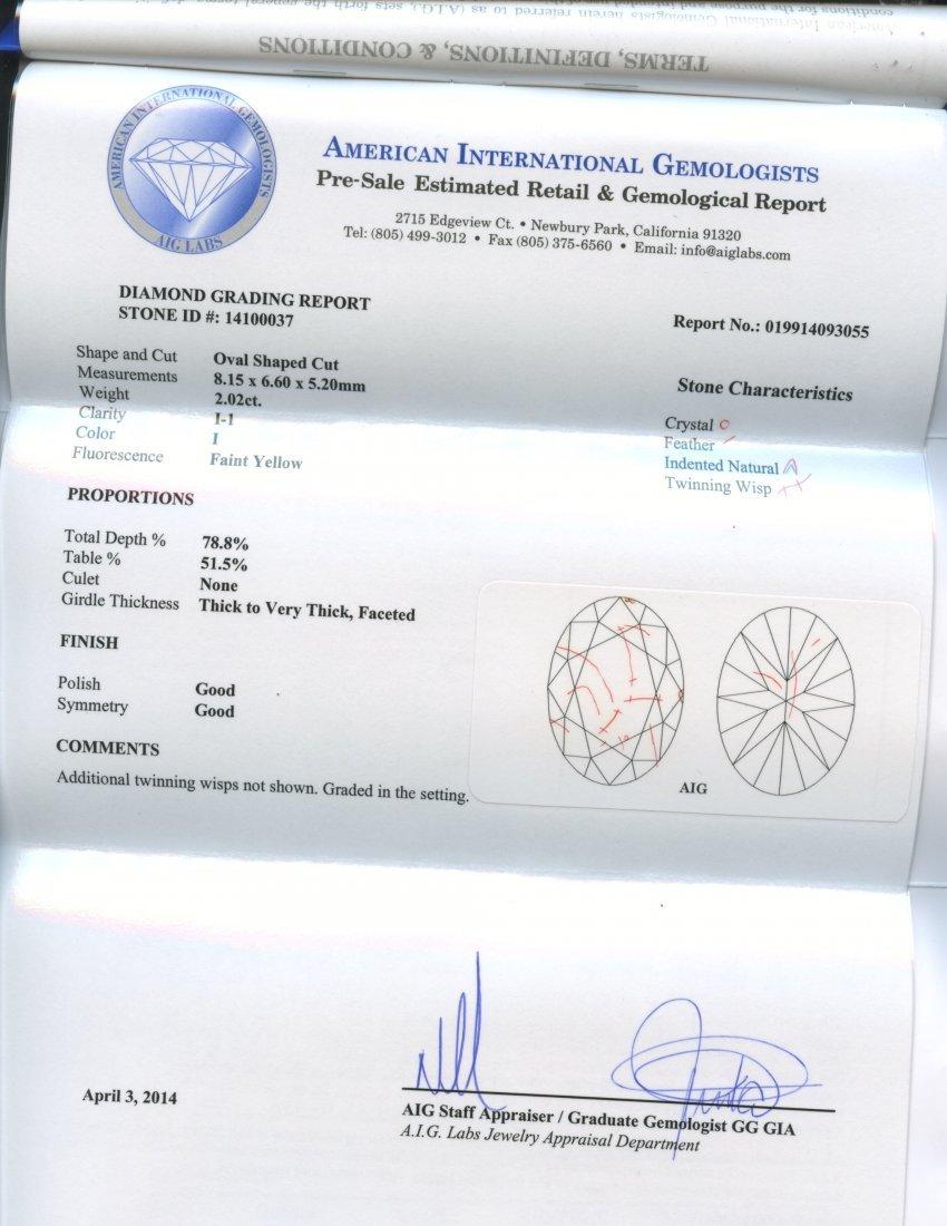 2.90 ct Diamond Ring (Orianne Trademark) AV: $33,210 - 3