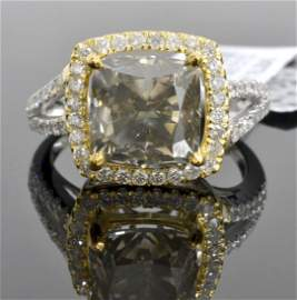 Diamond Ring Appraised Value: $64,105