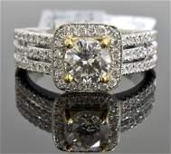 1.44 ct Diamond Ring (GIA CERTIFIED) AV: $13,750