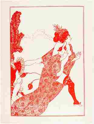 Beardsley, Serie completa di 8 tavole…