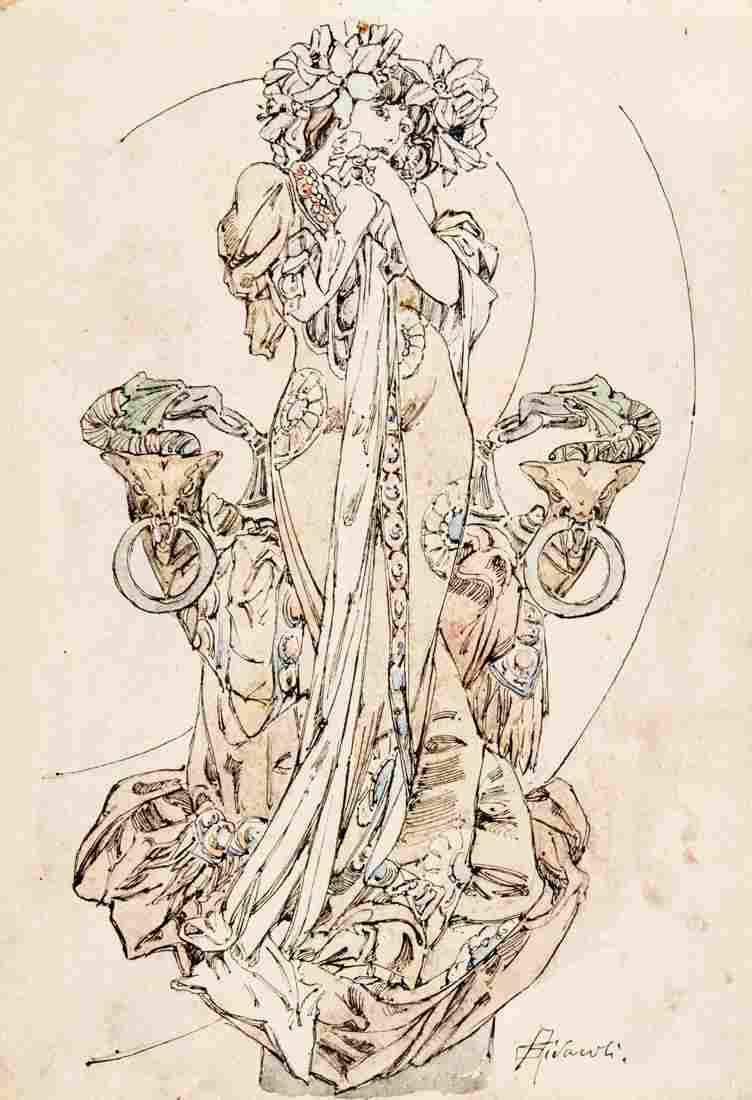 Rivaroli, Sarah Bernhardt