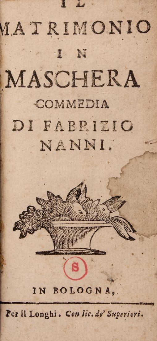 [Theatre] Nanni, Il matrimonio in maschera