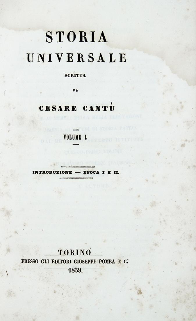 Cant¹ Storia Universale Voll I XXXV