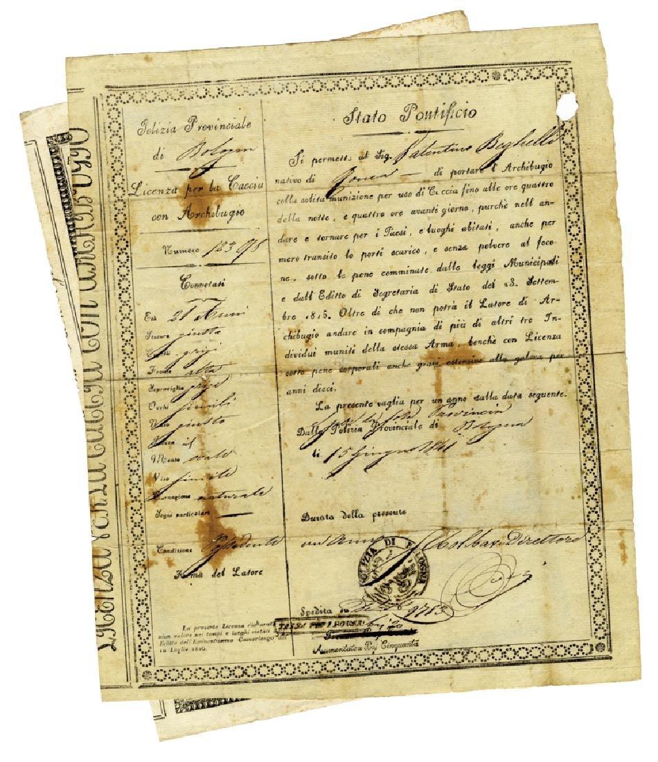 Raccolta di 30 tra passaporti, certificati…