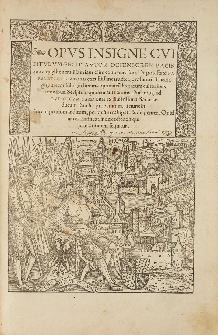 Marsilio da Padova, Opus insigne…