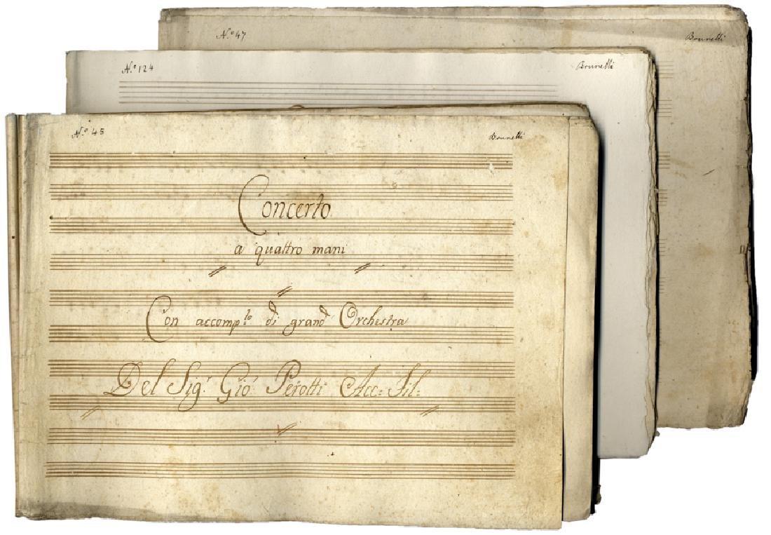 Perotti, Concerto a quattro mani ...