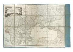 maps Dezauche Carte de la mer Noire
