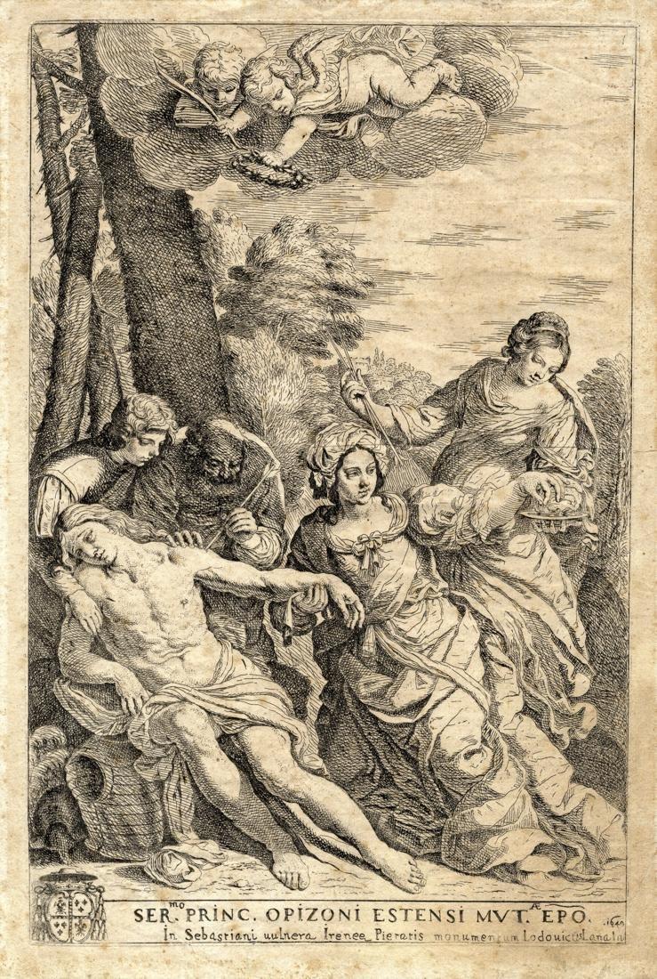 Lana, San Sebastiano curato da sant'Irene