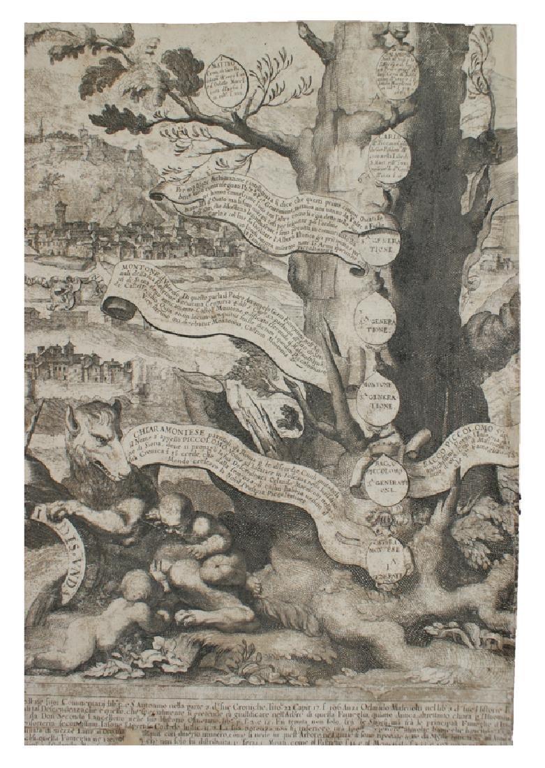 Westerhout, Albero geneaologico Piccolomini - 17