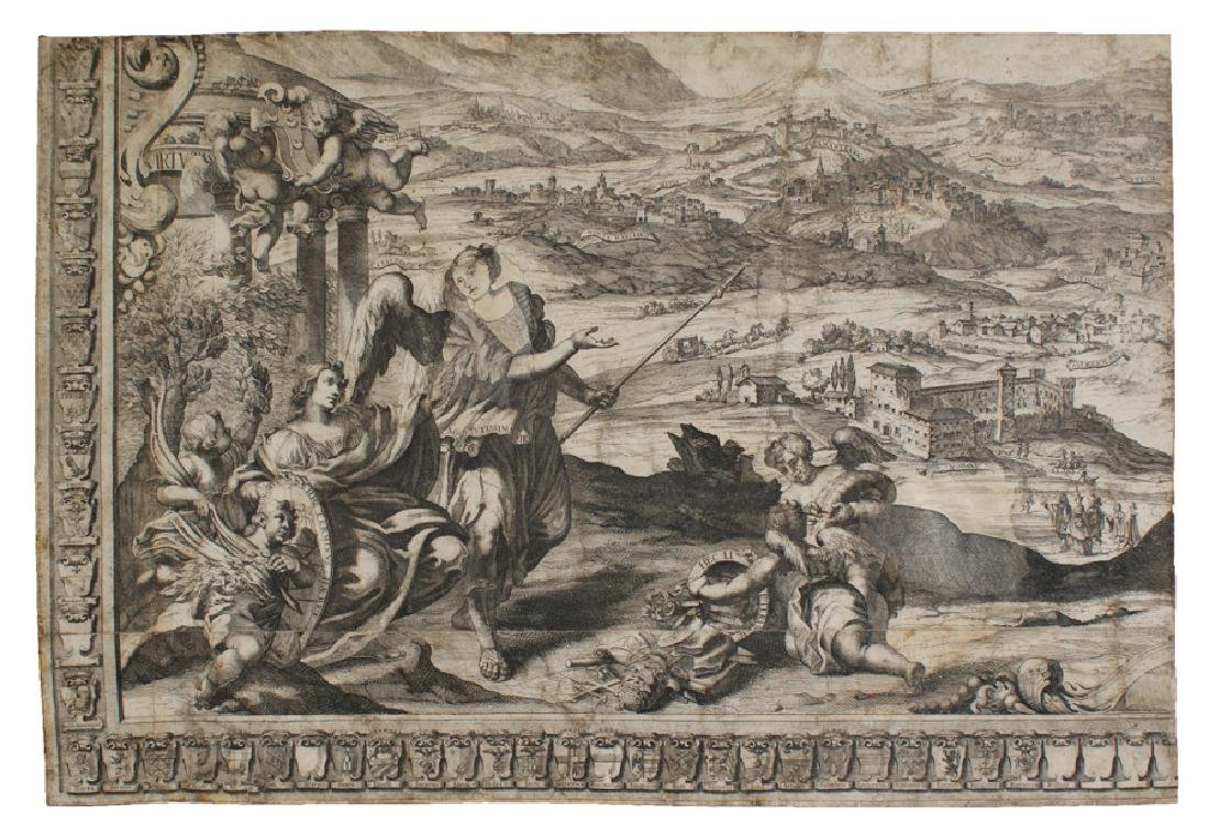 Westerhout, Albero geneaologico Piccolomini