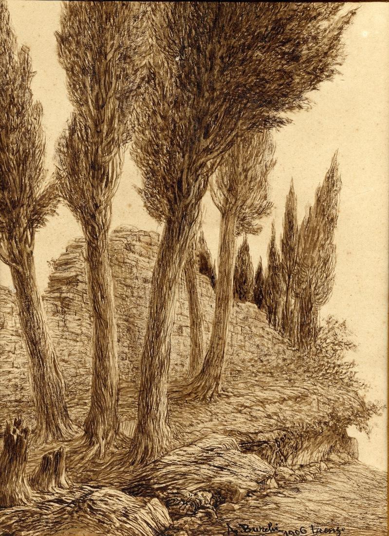 Burchi, Coppia di paesaggi - 2