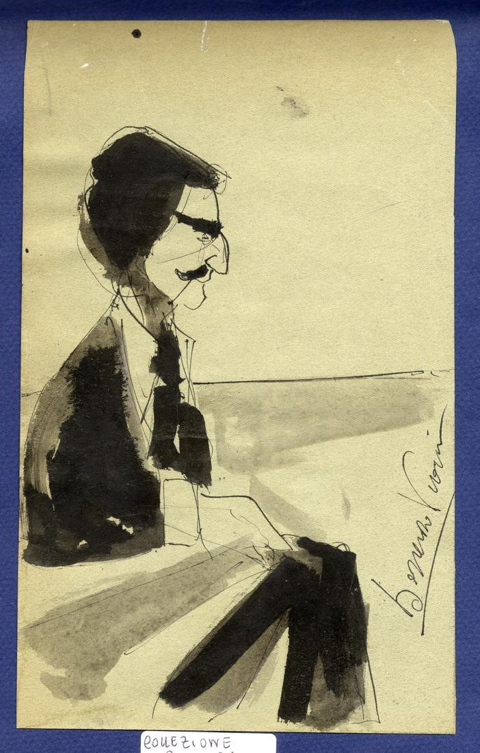 Viani, Ritratto di uomo con baffi