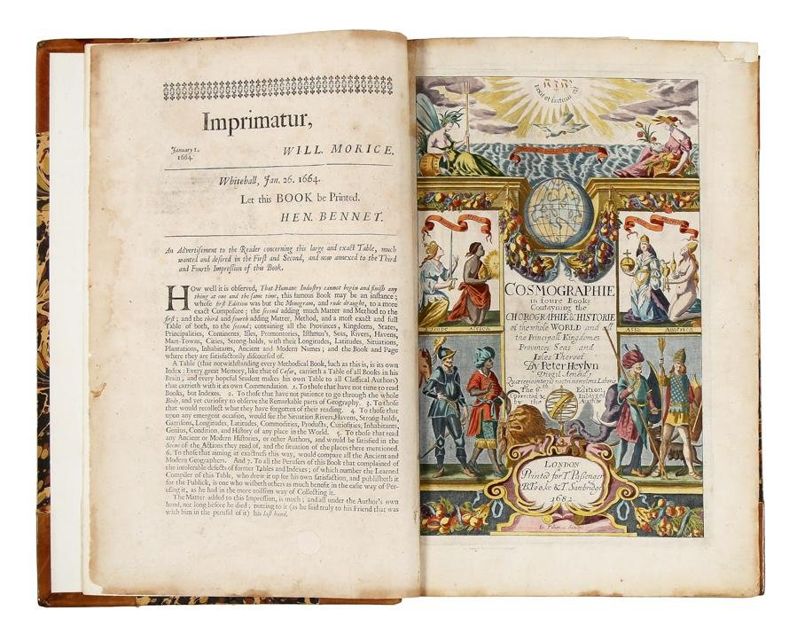 [atlases] Heylyn, 1682