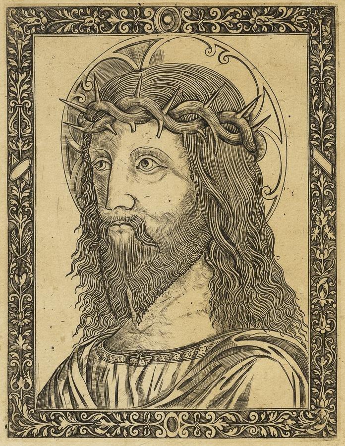 Da Birago Giovanni, Cristo coronato di spine.