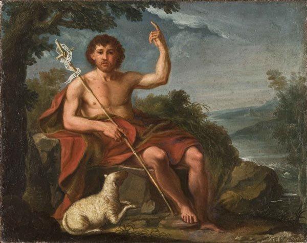 1: Old Master Oil Painting, Italian School, 18th