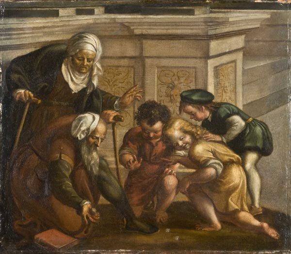 2: Old Master Oil Painting, Italian School, 17th